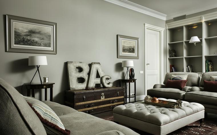 Фото № 44624 гостиная  Квартира