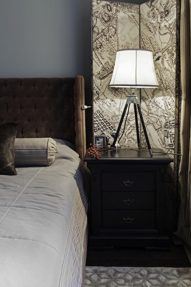 интерьер спальни - фото № 44632