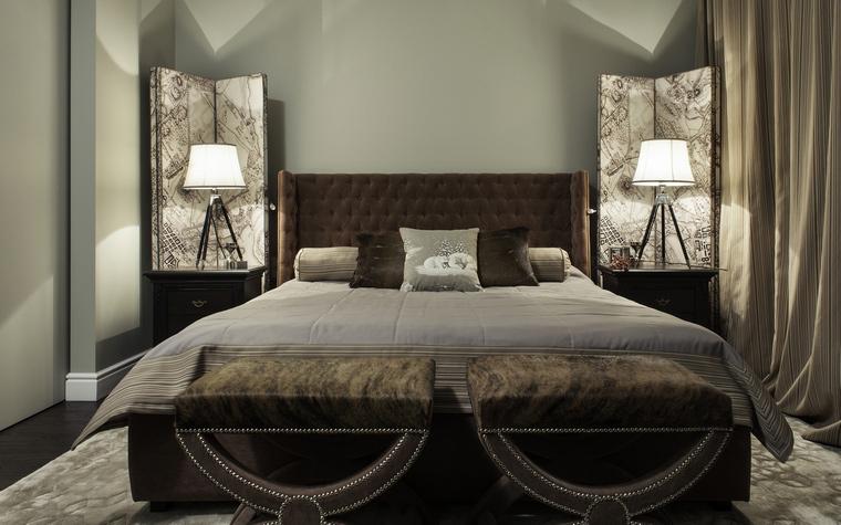 интерьер спальни - фото № 44633