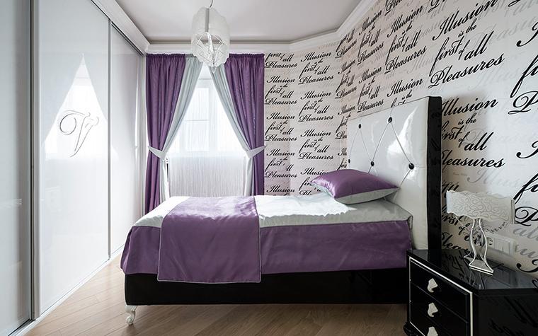 интерьер спальни - фото № 44641