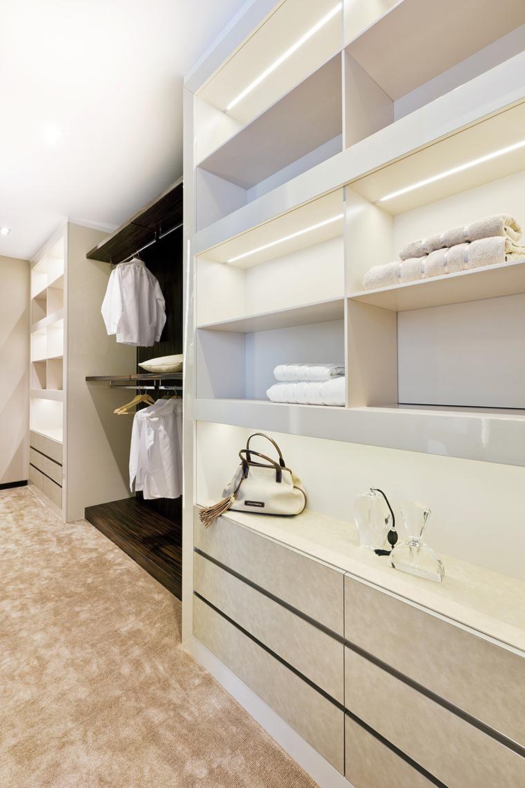 Фото № 44675 гардеробная  Квартира