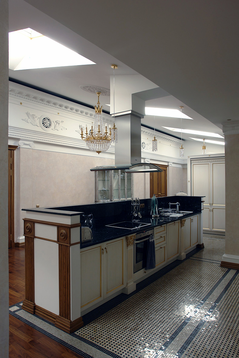 Фото № 44774 кухня  Квартира