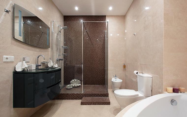 Квартира. ванная из проекта , фото №44823