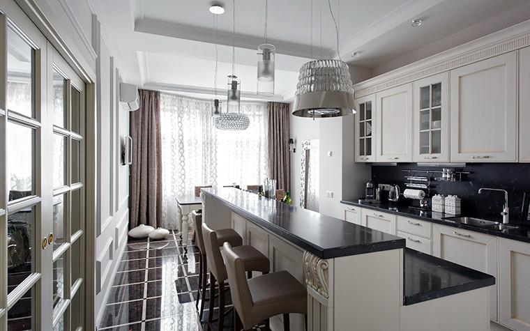 Квартира. кухня из проекта , фото №44826