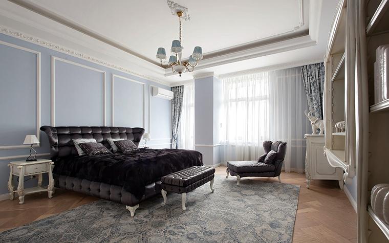 Квартира. спальня из проекта , фото №44825