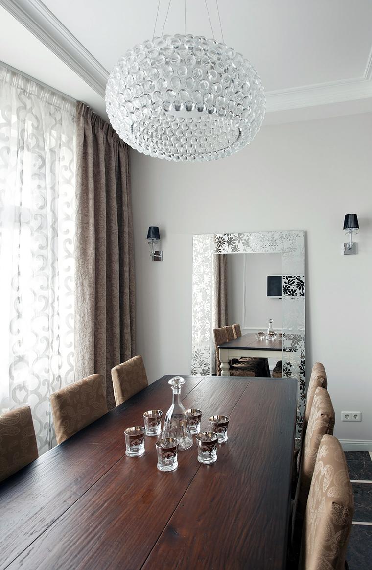 Квартира. столовая из проекта , фото №44828