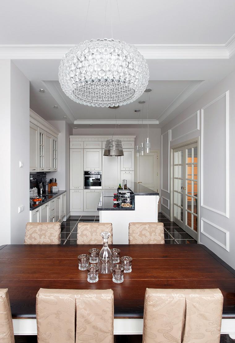 Квартира. кухня из проекта , фото №44827