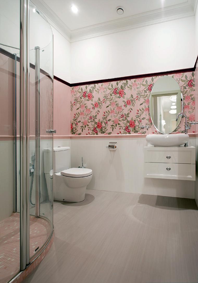 Квартира. ванная из проекта , фото №44831