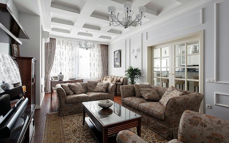 Фото № 44815 гостиная  Квартира