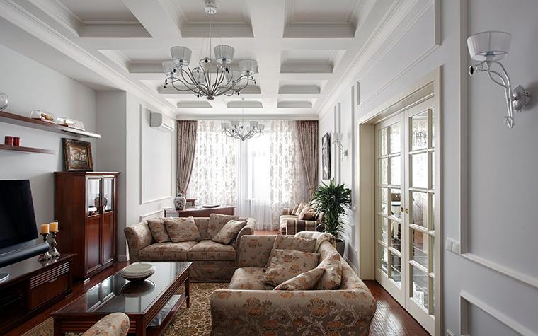 Фото № 44818 гостиная  Квартира