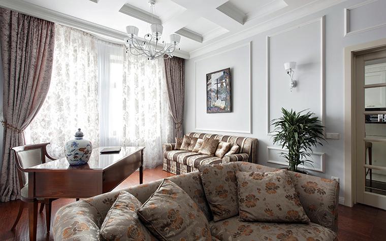 Квартира. гостиная из проекта , фото №44821