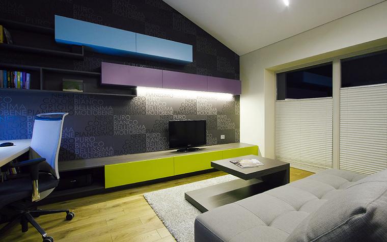 интерьер гостиной - фото № 44832
