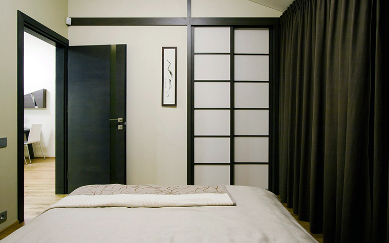 Квартира. спальня из проекта , фото №44839