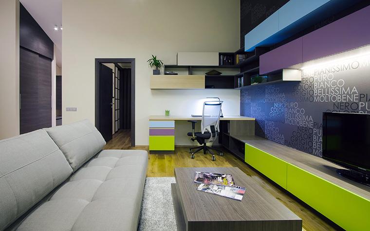 интерьер гостиной - фото № 44836