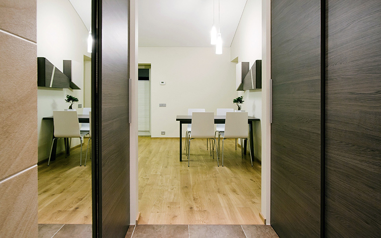 Квартира. столовая из проекта , фото №44843