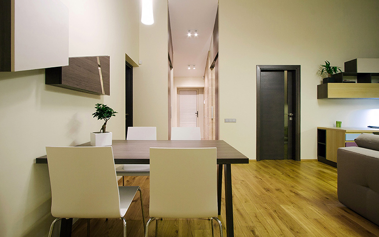 Квартира. столовая из проекта , фото №44844