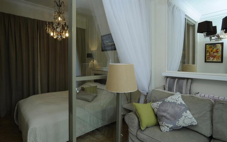 Квартира. спальня из проекта , фото №44870
