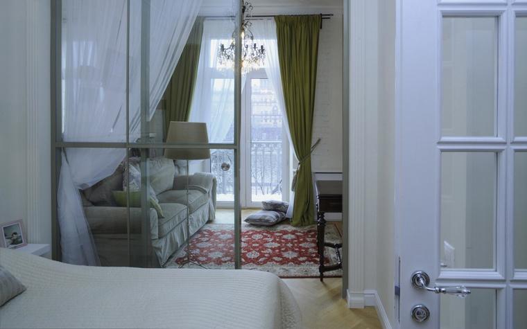 Квартира. спальня из проекта , фото №44869