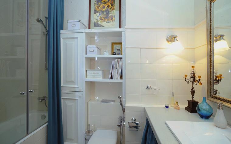 Квартира. ванная из проекта , фото №44874