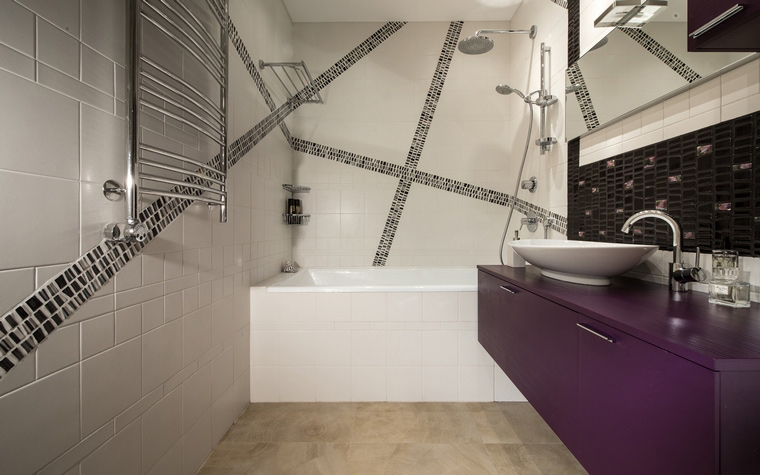 Фото № 45042 ванная  Квартира