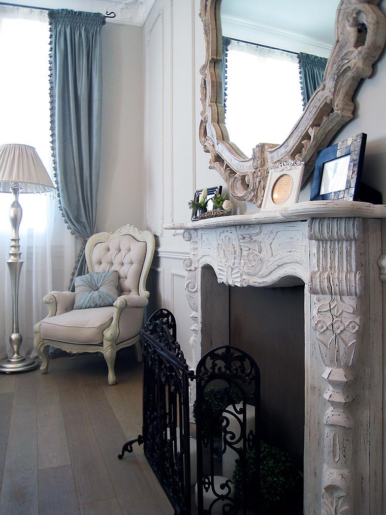 интерьер гостиной - фото № 45076