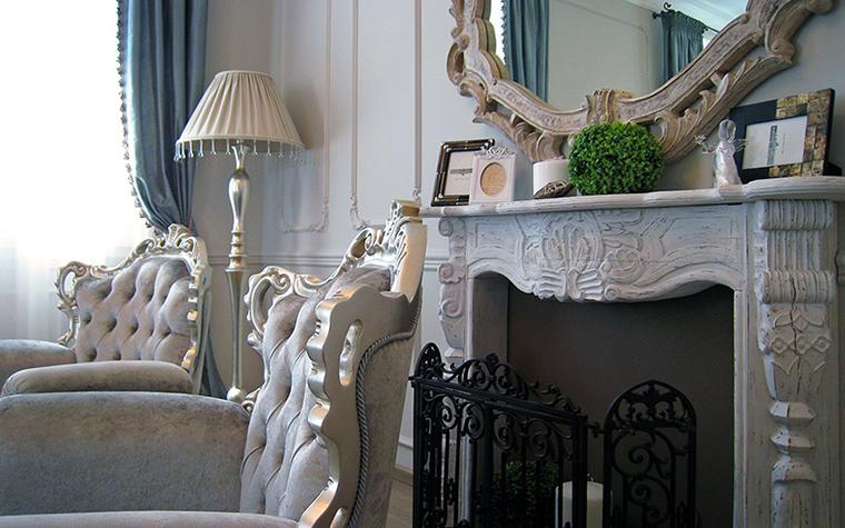 интерьер гостиной - фото № 45078
