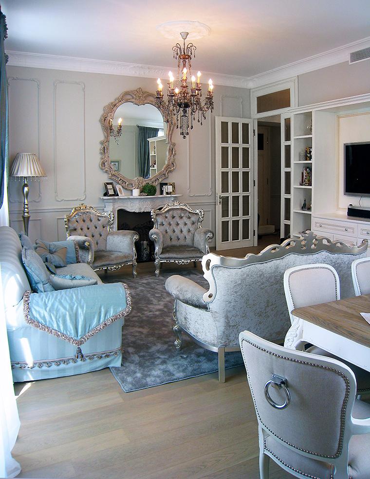 интерьер гостиной - фото № 45077