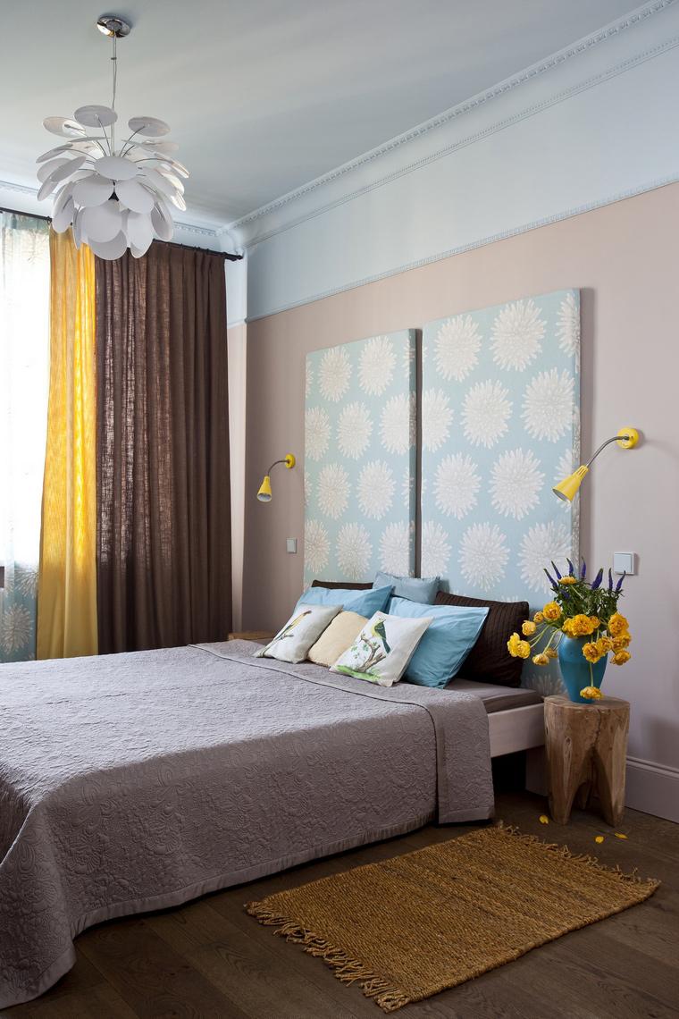 интерьер спальни - фото № 45234