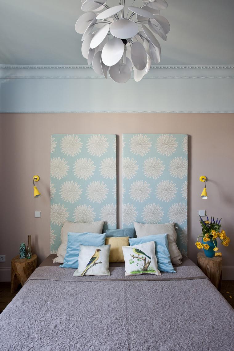 Квартира. спальня из проекта , фото №45235