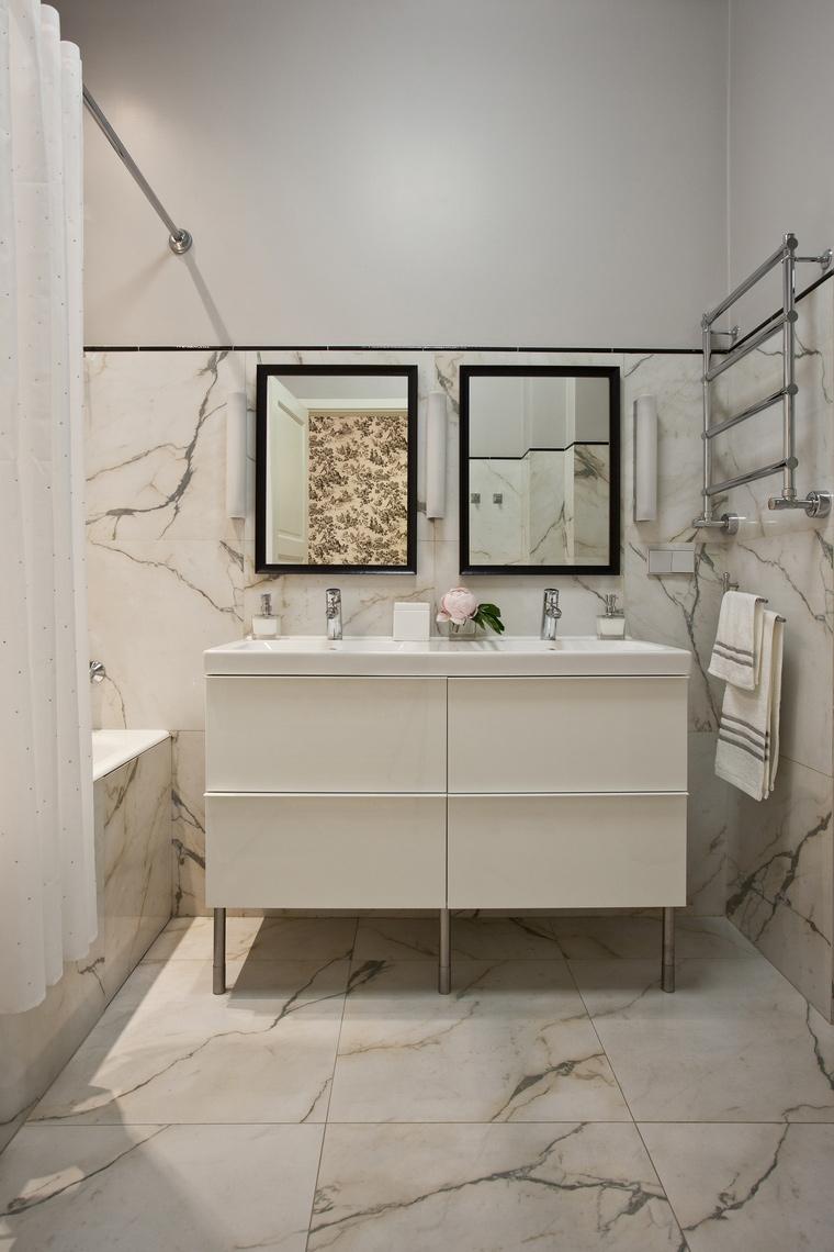 Квартира. ванная из проекта , фото №45232