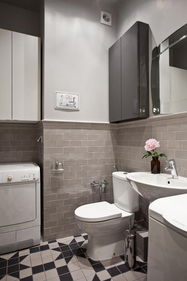 Квартира. санузел из проекта , фото №45231