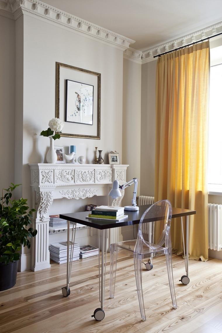Квартира. кабинет из проекта , фото №45222