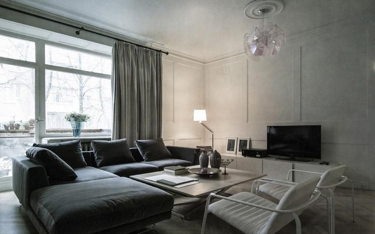 Фото № 45243 гостиная  Квартира