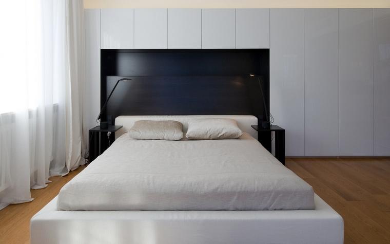 Квартира. спальня из проекта , фото №45325