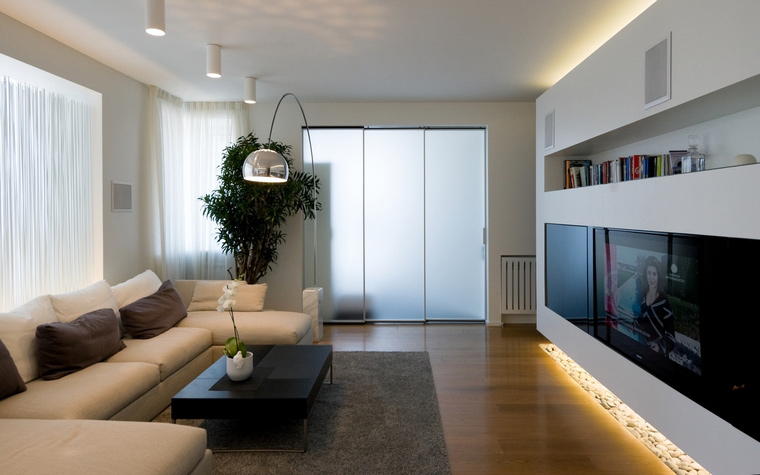 Квартира. гостиная из проекта , фото №45313