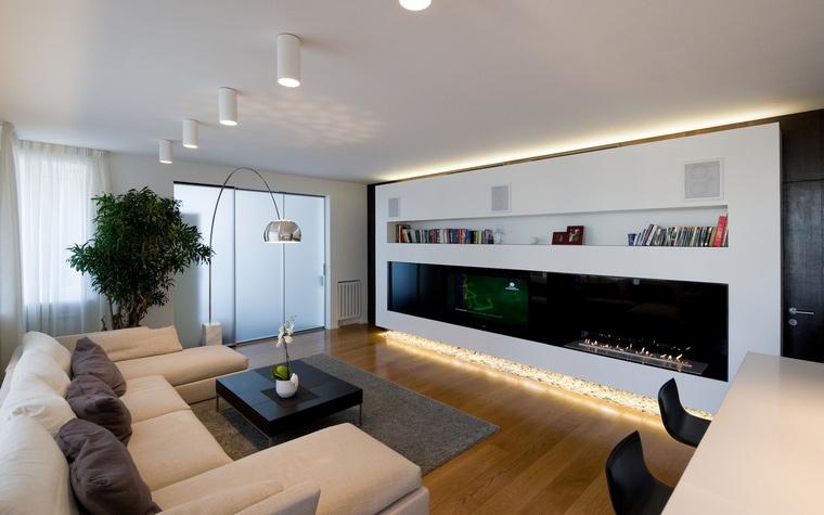 интерьер гостиной - фото № 45314