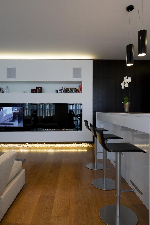 Квартира. гостиная из проекта , фото №45316