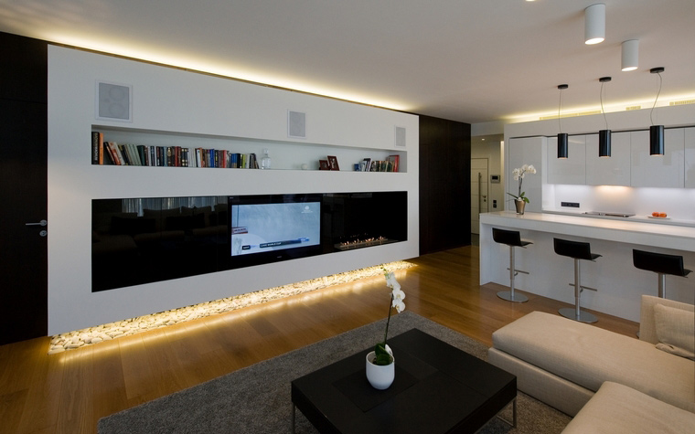 Квартира. гостиная из проекта , фото №45317
