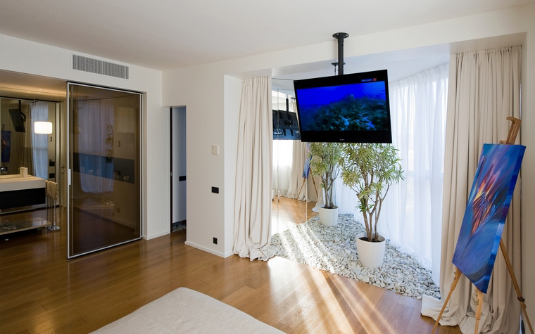 Квартира. спальня из проекта , фото №45326