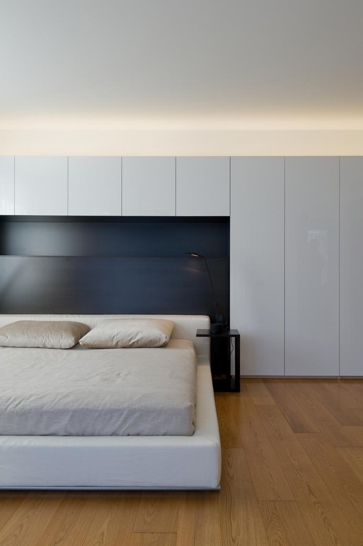 Квартира. спальня из проекта , фото №45323