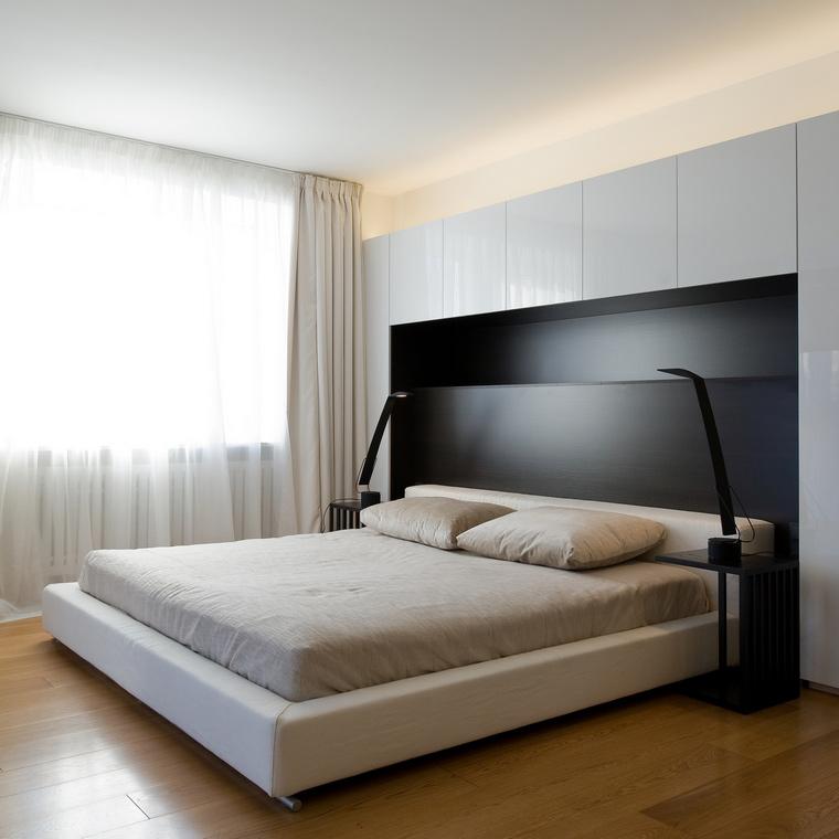 Квартира. спальня из проекта , фото №45324