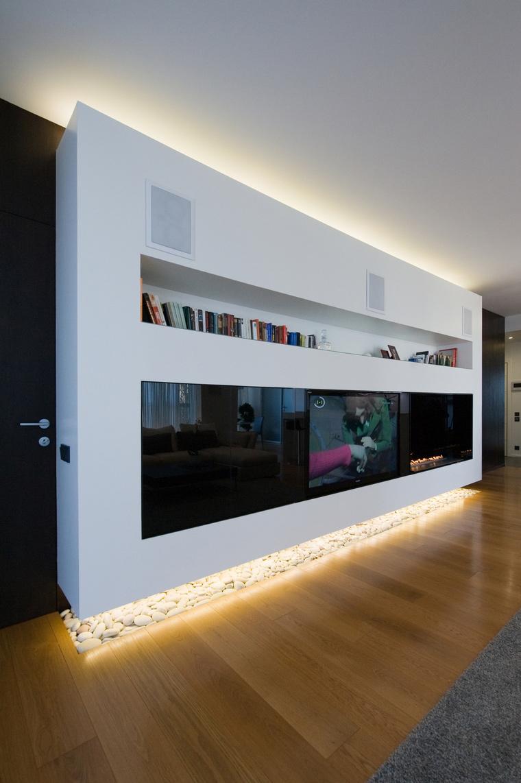 интерьер гостиной - фото № 45312
