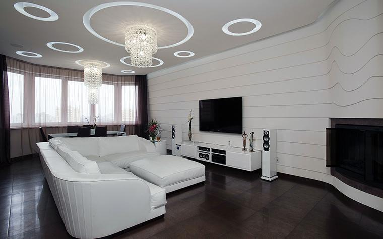 интерьер гостиной - фото № 45404