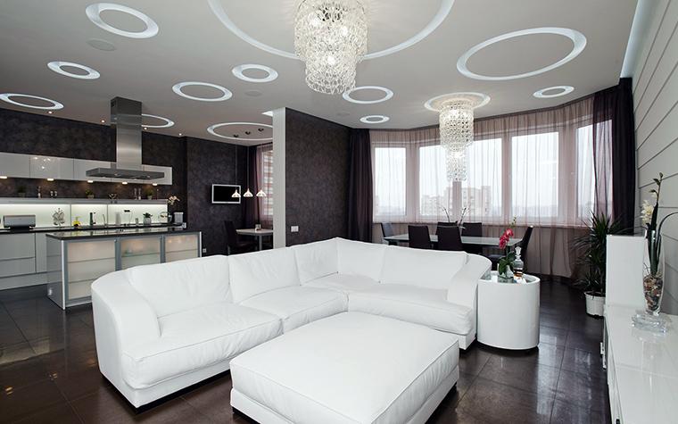 интерьер гостиной - фото № 45406
