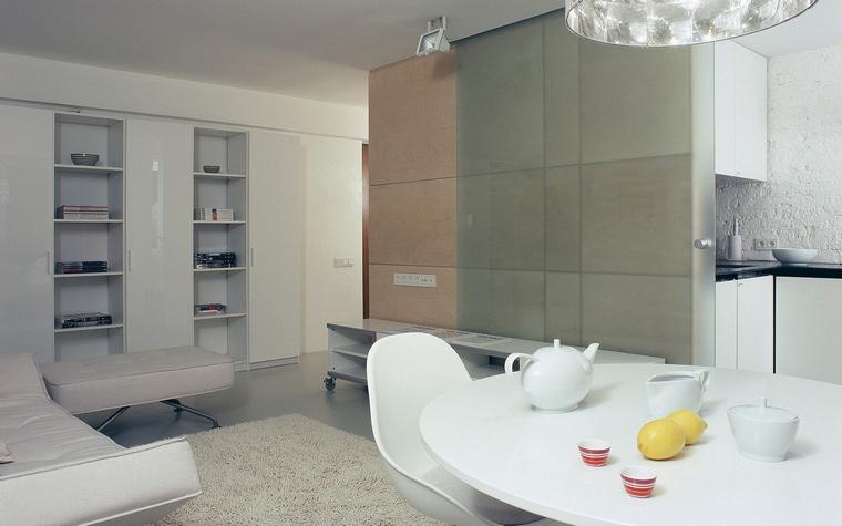 интерьер гостиной - фото № 45420