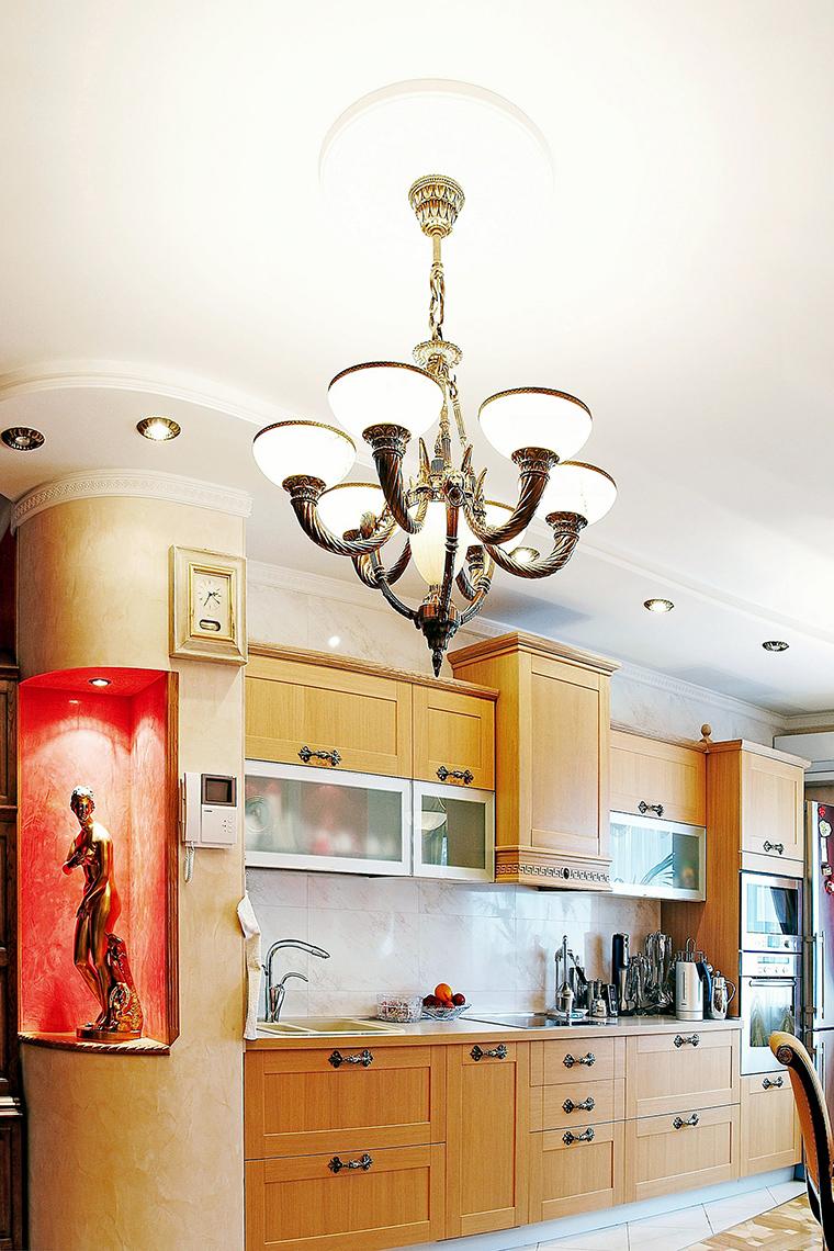Квартира. кухня из проекта , фото №45433