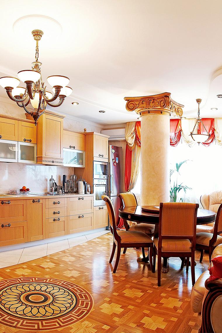 Квартира. кухня из проекта , фото №45434