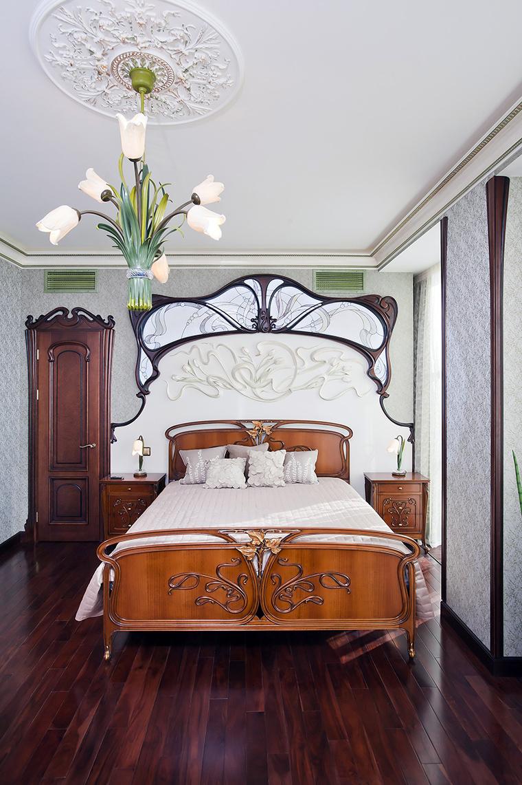 Квартира. спальня из проекта , фото №45474