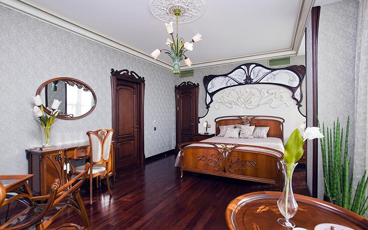 Квартира. спальня из проекта , фото №45475