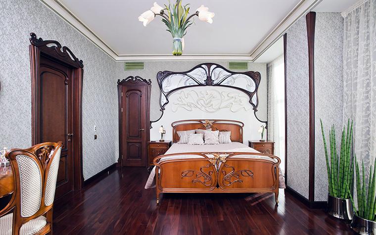 Квартира. спальня из проекта , фото №45476